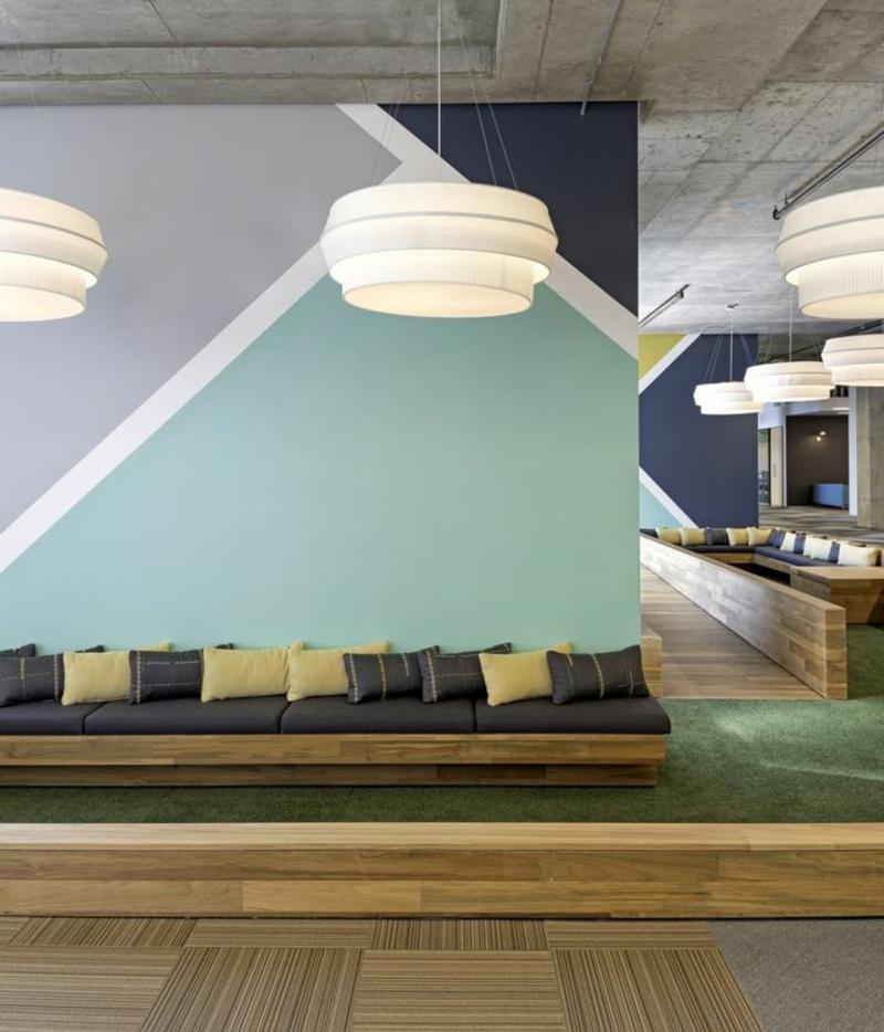Wandfarbe Weiß Office Wandfarben kombinieren