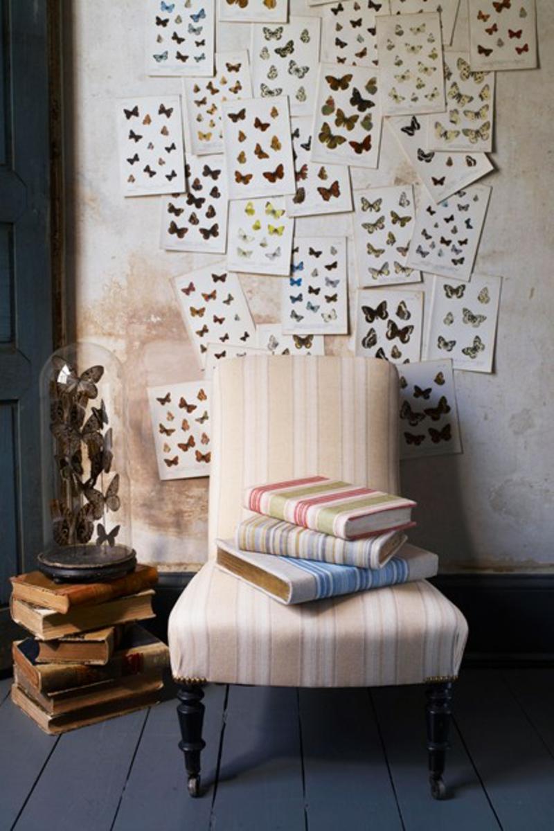Wandgestaltung Flur Flurmöbel Deko Ideen Sessel