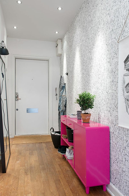 Wandgestaltung flur kreative deko ideen für den