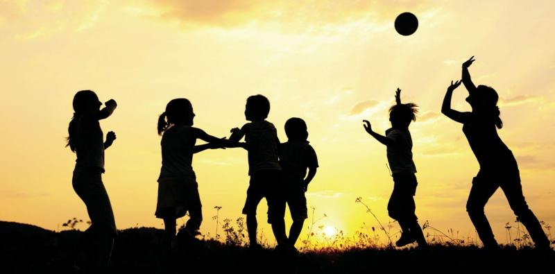 Wie können Kinder abnehmen Sport