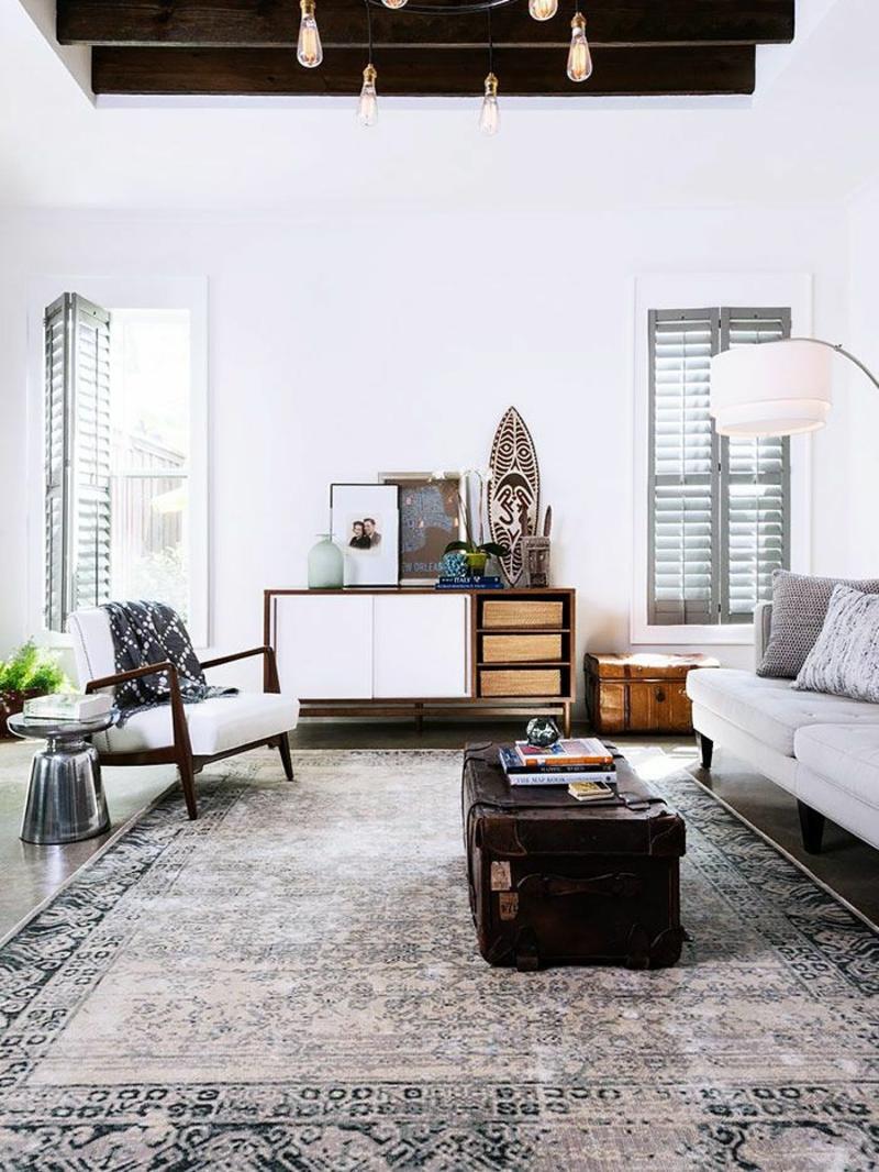 Wandverkleidung Holz Englisch ~ einrichtungsbeispiele wohnzimmer offener küche Wohnideen Wohnzimmer