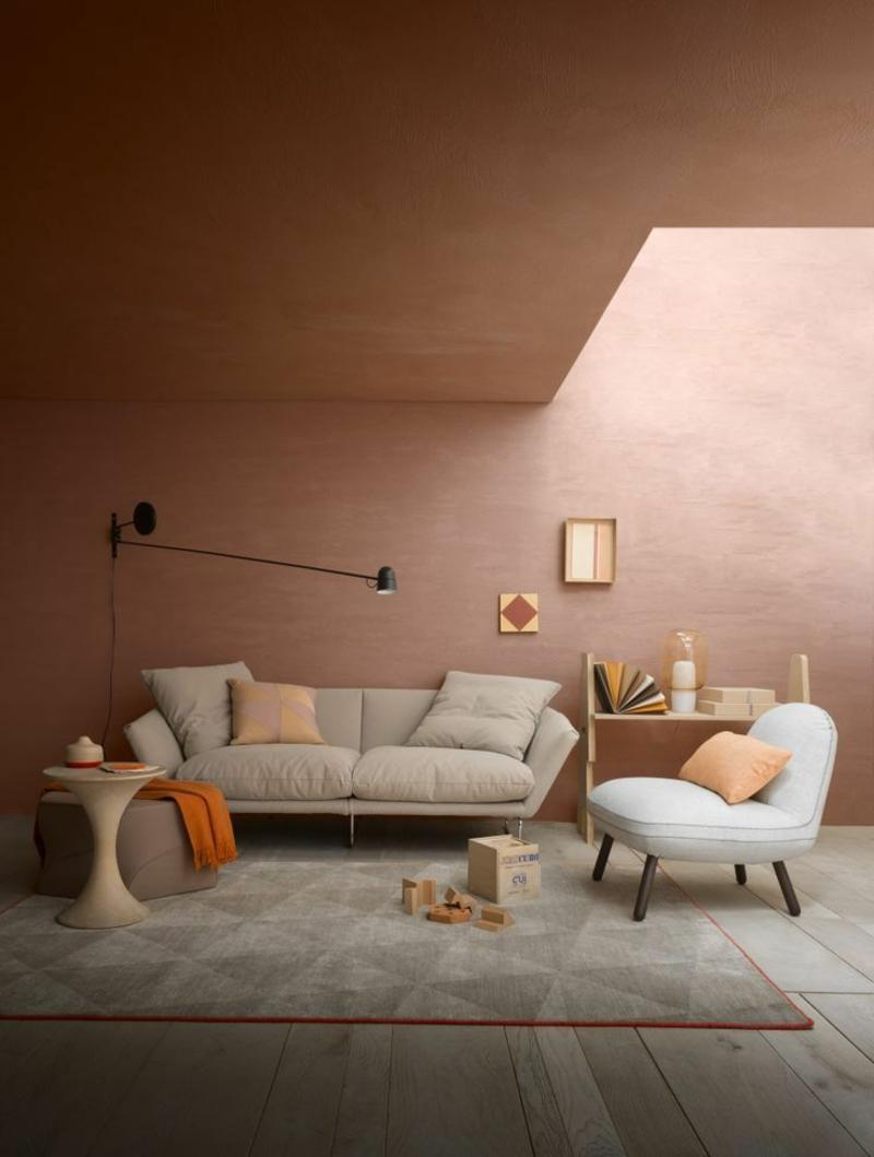 Wohnideen und Trends Wandfarben Einrichtungsideen Wohnzimmer