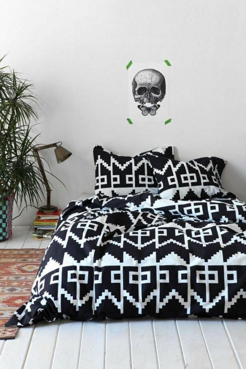 Schlafzimmergestaltung Mit Lila Und Weiss 2 Ausgefallene Bettwäsche Nach  Dem Sternzeichen Aussuchen