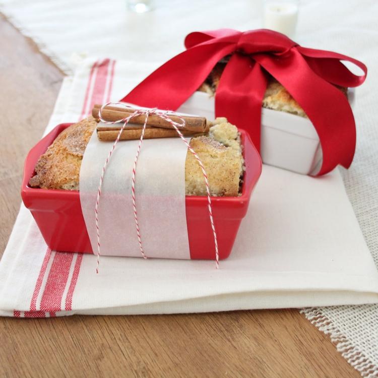 ausgefallene Geschenkideen DIY Geschenke Kuchen backen