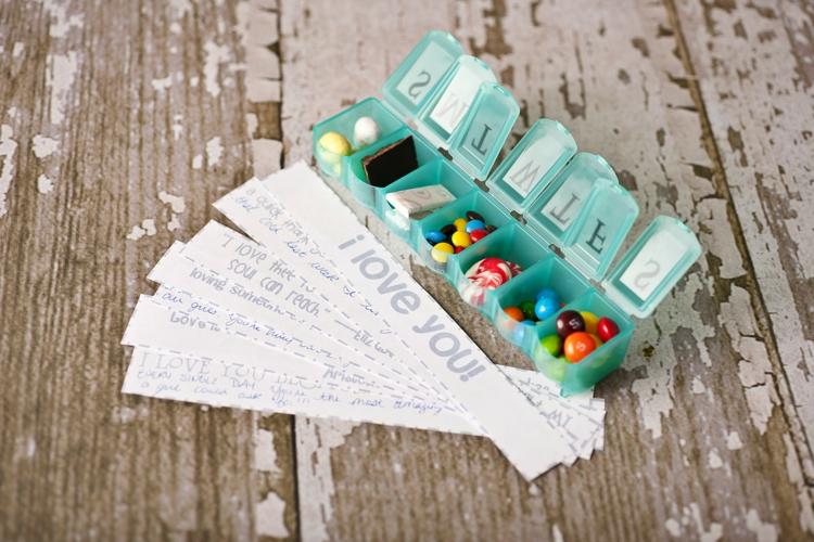 ausgefallene Geschenkideen DIY Geschenke Liebeserklärung