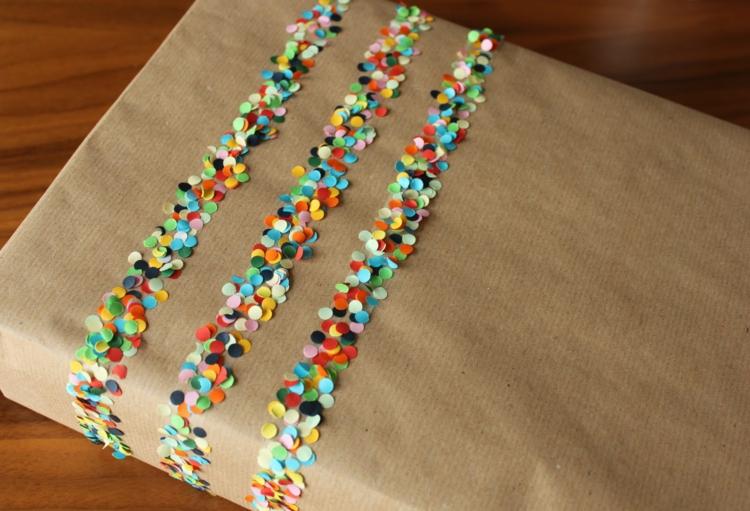 ausgefallene Geschenkideen DIY Geschenke schön verpackt