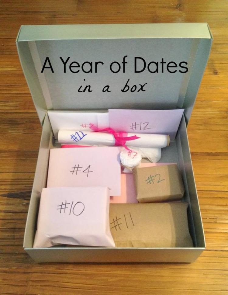 ausgefallene Geschenkideen DIY Geschenke zu Valentinstag