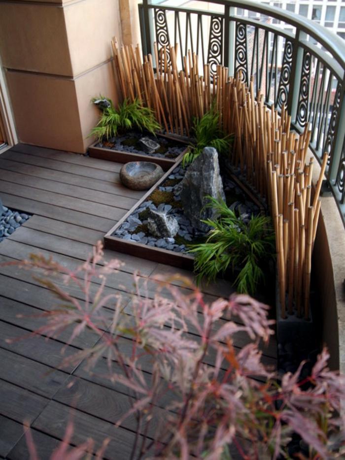 bambusstangen  bambusstangen balkondekoration feng shui