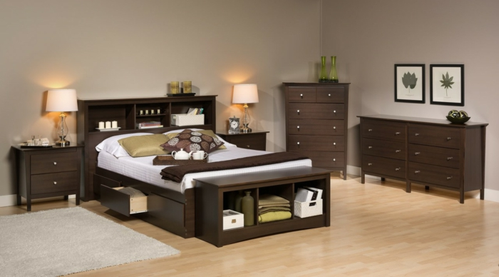 bett mit stauraum eine funktionelle alternative wie man. Black Bedroom Furniture Sets. Home Design Ideas