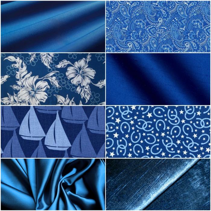 blaues kleid farbgestaltung blaue kleider blau dessin