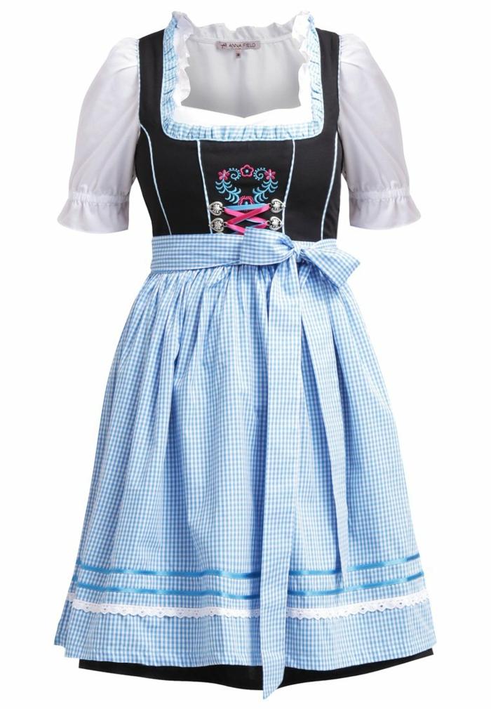 blaues kleid farbgestaltung blaue kleider dirndl