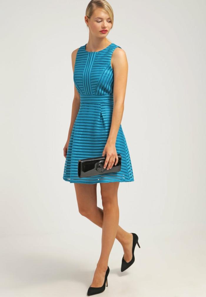 Blaues kleid original