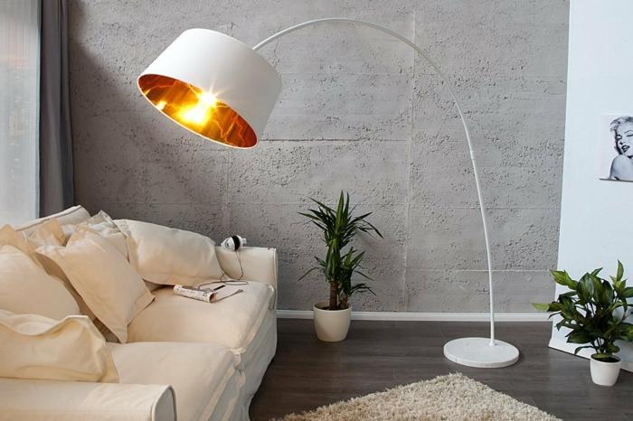 bogenlampe extenso stehlampe forma invicta interior weiß
