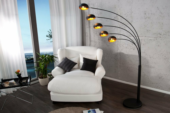 bogenlampe 15 elegante treffer aus dem amazon. Black Bedroom Furniture Sets. Home Design Ideas
