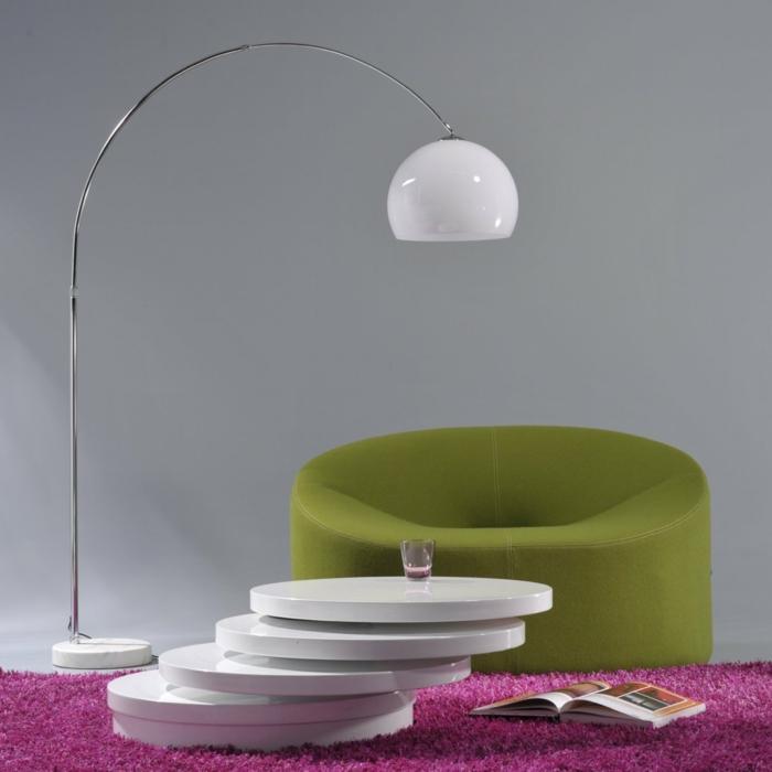 bogenlampe xl design bogenlampe luxx weiß cagü