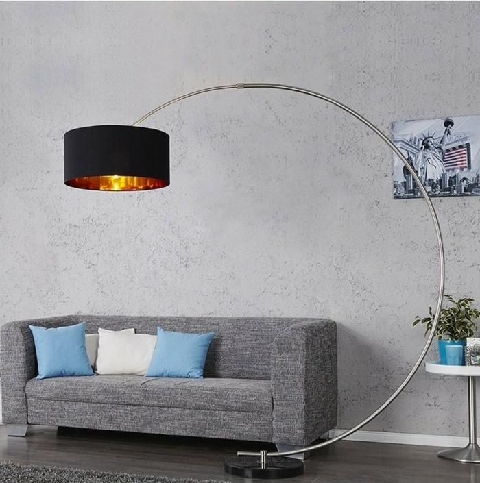 bogenlampe xxl design stehlampe cagü
