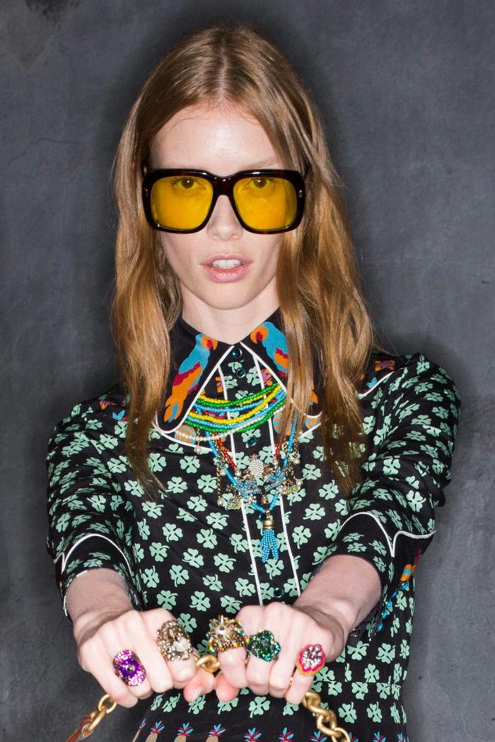 brillenmode modische brillen aktuelle tendenzen aktuell 70er