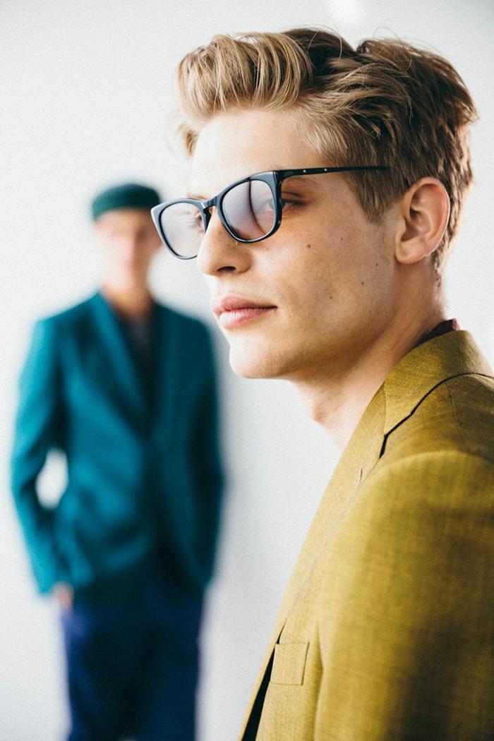 brillenmode modische brillen aktuelle tendenzen aktuell gruen schwarz