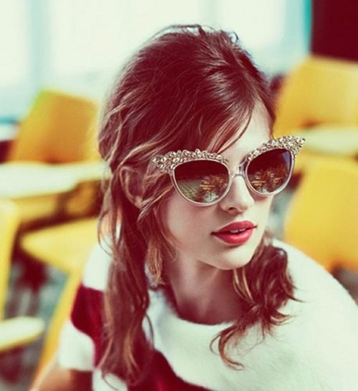 brillenmode modische brillen aktuelle tendenzen extravagant prominenz