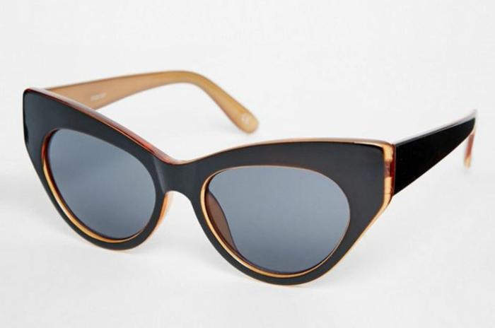 modische brillen aktuelle tendenzen karamel schwarz