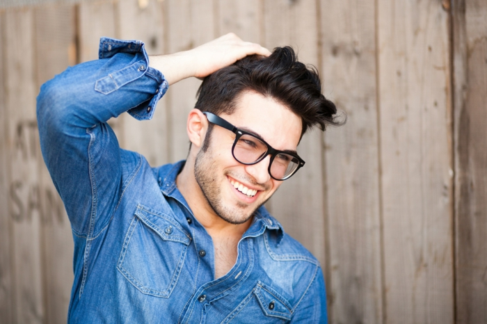 modische brillen aktuelle tendenzen maenner eleganz