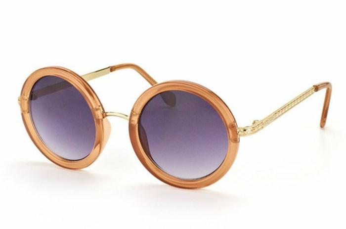 modische brillen aktuelle tendenzen stark runde brille john lennon