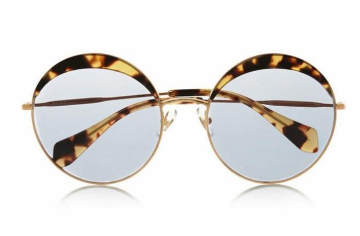 modische brillen aktuelle tendenzen stark runde freaky