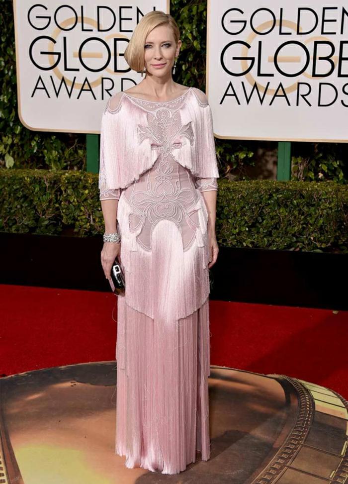cate blanchett Abendkleider lang Golden Globes 2016