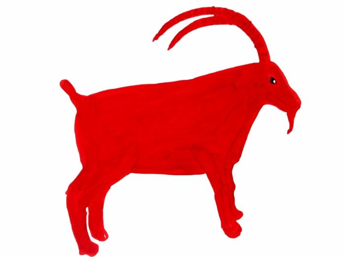 chinesische sternzeichen der feurige affe asia rot chinesisches horoskop ziege