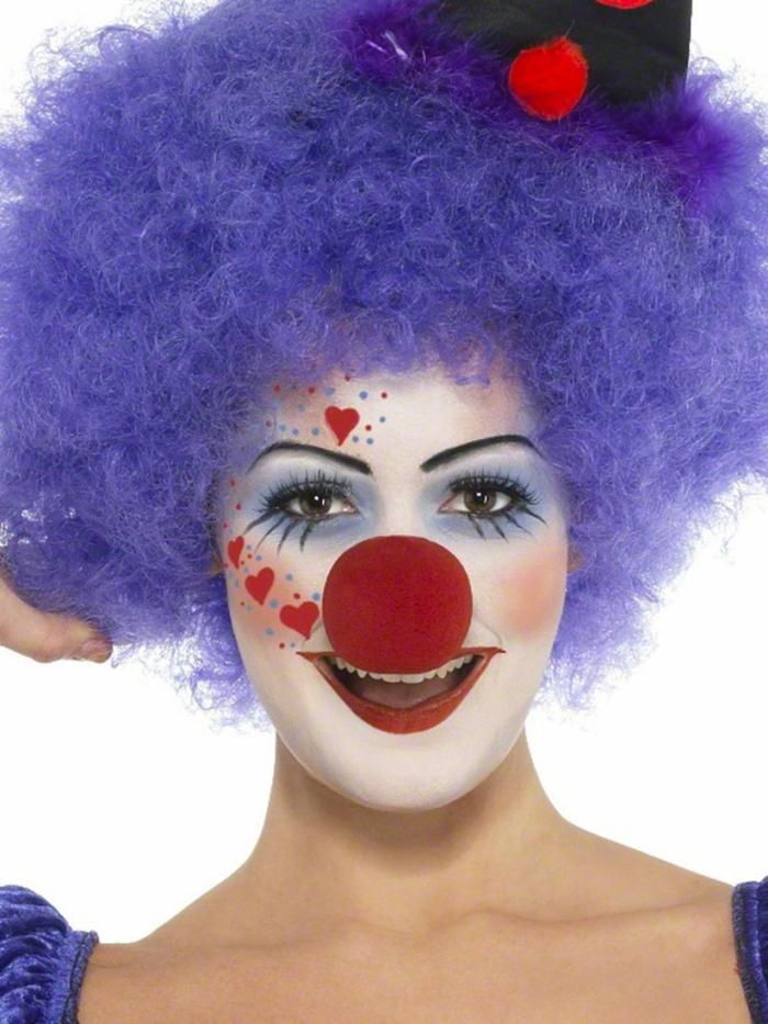 clown schminken leicht gemacht lustige ideen und anleitung. Black Bedroom Furniture Sets. Home Design Ideas