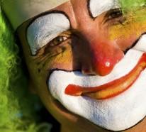 Clown schminken leicht gemacht