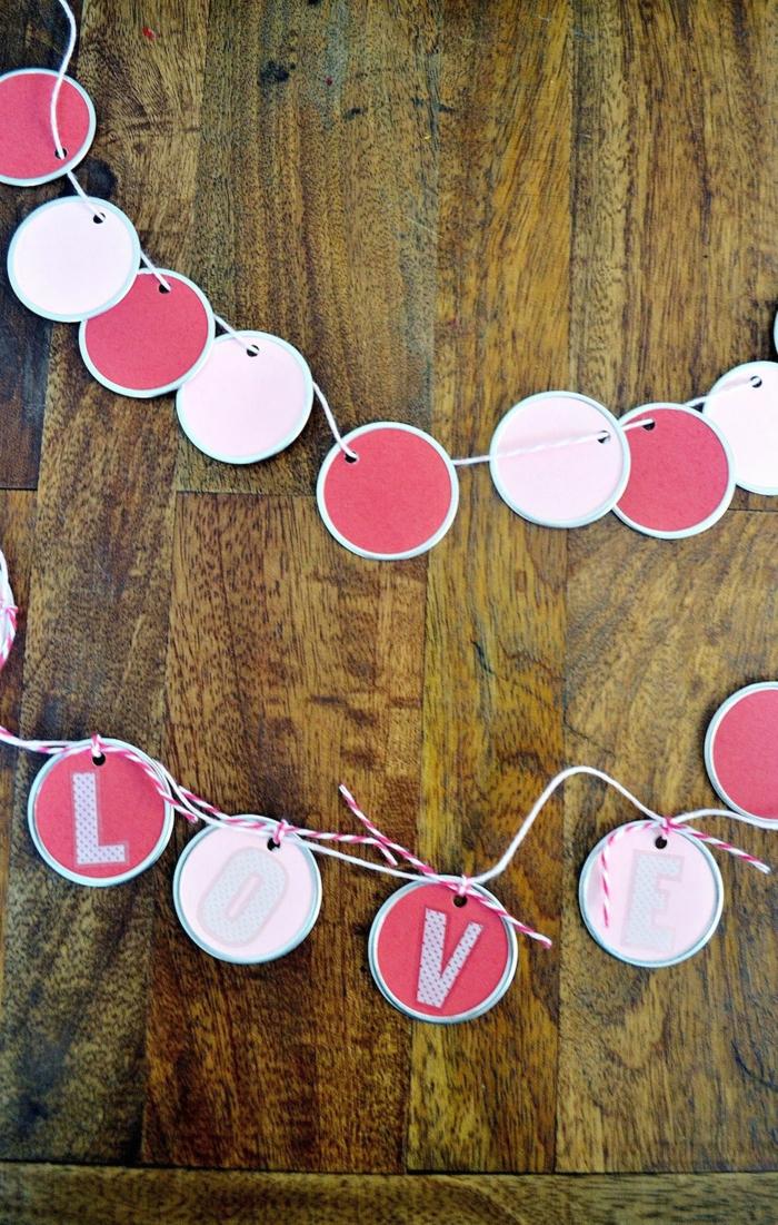 43 deko ideen selber machen lustig und farbig den innen for Deko ideen valentinstag