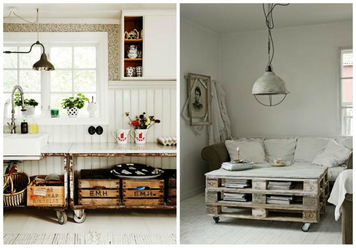 39 upcycling dekoideen mit gebrauchten gegenst nden. Black Bedroom Furniture Sets. Home Design Ideas