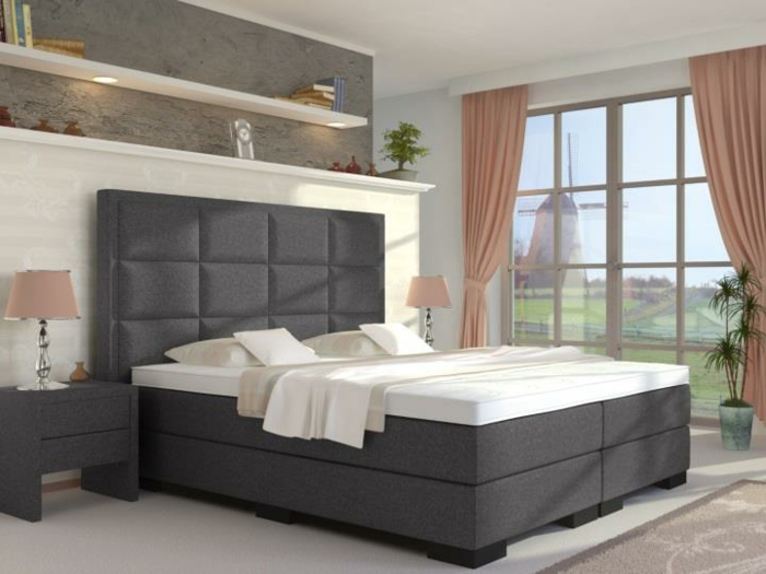 die besten boxspringbetten qualit t macht den unterschied. Black Bedroom Furniture Sets. Home Design Ideas