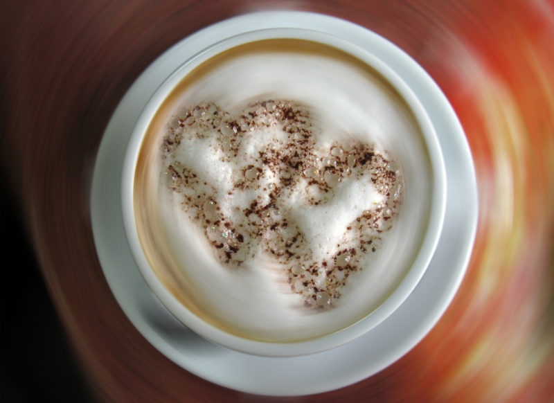 die schönste Liebeserklärung Bilder Valentinstag Geschenke Kaffeegetränk
