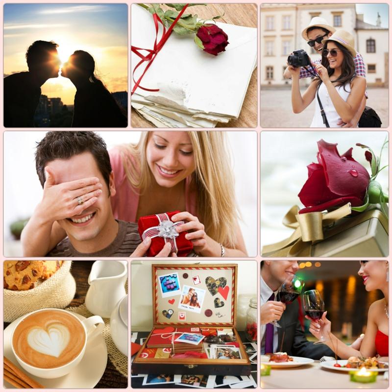 die schönste Liebeserklärung Bilder Valentinstag Geschenke