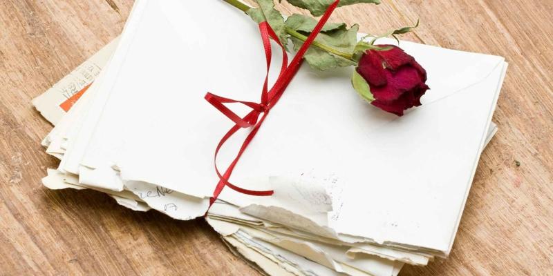 die schönste Liebeserklärung Brief Valentinstag Geschenke