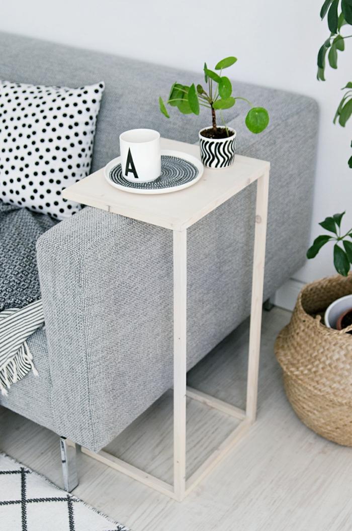 diy ideen mbel wohnideen wohnzimmer beistelltisch - Ideen Mbel Selber Bauen