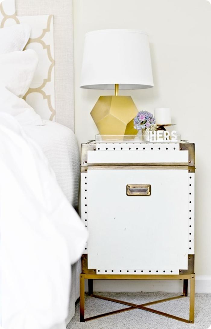diy ideen nachttisch selber bauen schlafzimmer einrichten
