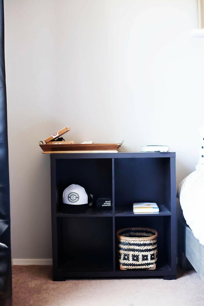 diy ideen schlafzimmer nachttisch funktional kreative wohnideen