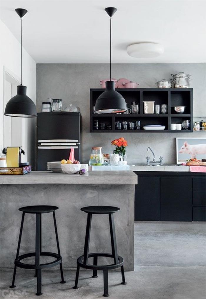 39 einrichtungsideen f r ihre ganz besondere k che. Black Bedroom Furniture Sets. Home Design Ideas
