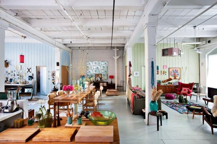 design : offene küche wohnzimmer boden ~ inspirierende bilder von ... - Offene Kuche Zum Wohnzimmer