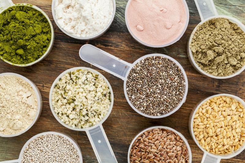 eiweißreiches Gemüse Proteinquellen pflanzliche Eiweiße Samen