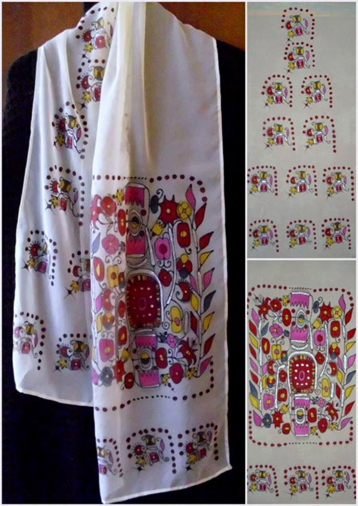 ethno kleidun ethno mode  ethno muster Stickerei valentino mode schürze  osteuropa tracht ethno schal