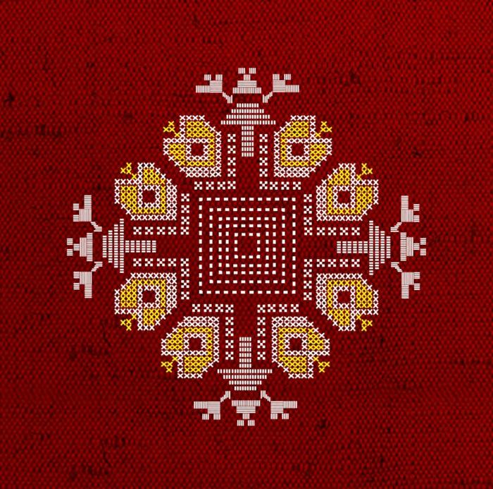 Valentino Weihnachtsdeko.Faszinierende Ethno Kleidung Und Bulgarische Stickereien Beindrucken