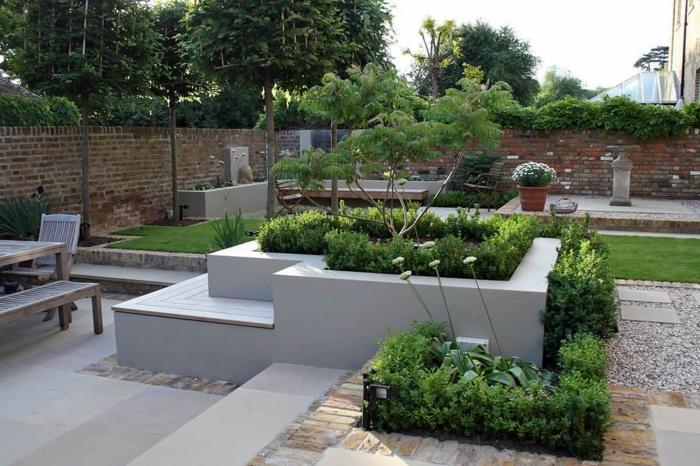 Terrasse Gestalten Garten Modern ? Performal.info Garten Modern Gestalten