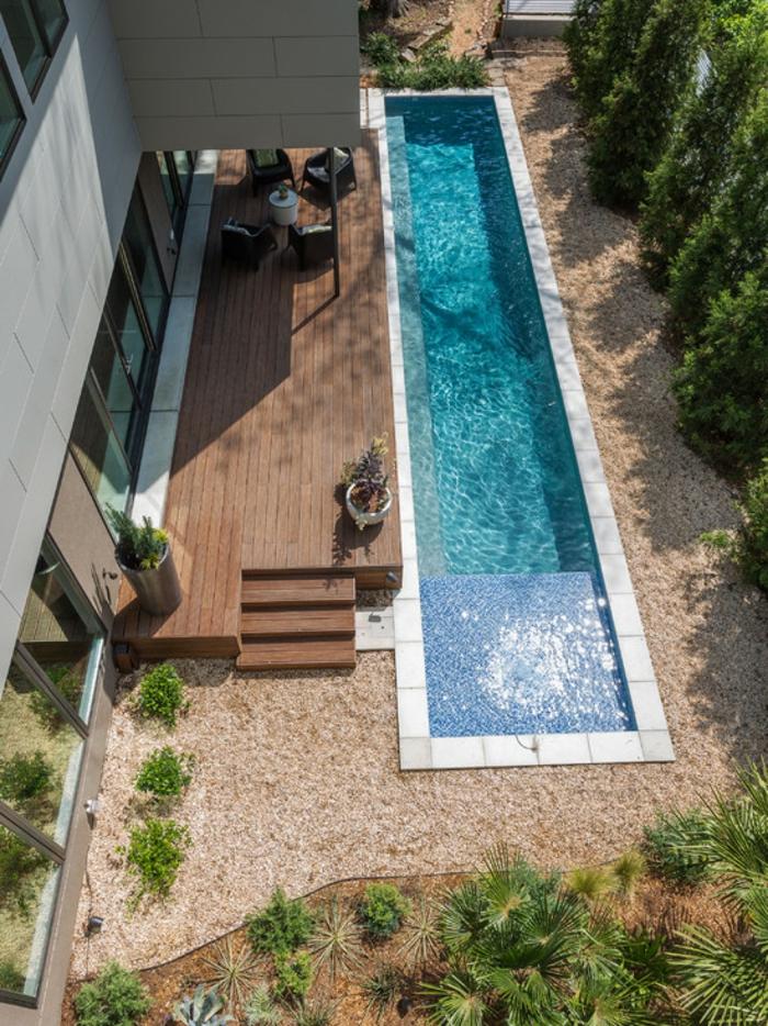 110 garten gestalten ideen in city style wie sie den for Garten pool 2m tief