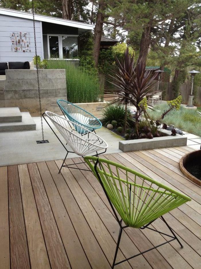 110 garten gestalten ideen in city style wie sie den. Black Bedroom Furniture Sets. Home Design Ideas