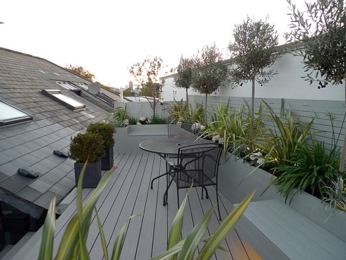 garten gestaltung terrasse gestalten pfanzen außenmöbel