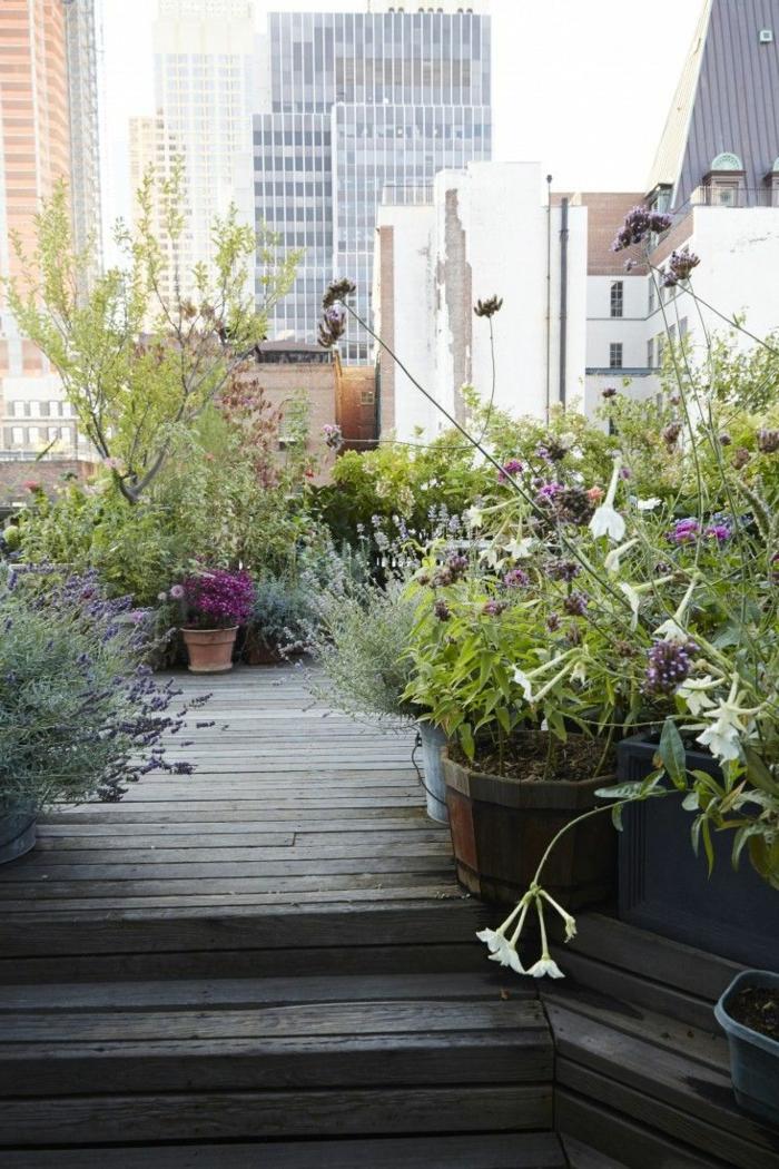 gartengestaltung ideen city style pflanzen terrasse gestalten